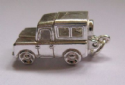 Sterling Silver Opening Land Rover Charm